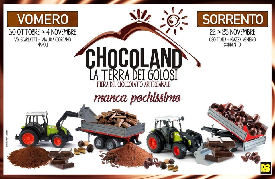 """Vomero, ritorna """"Chocoland, la Terra dei Golosi"""""""