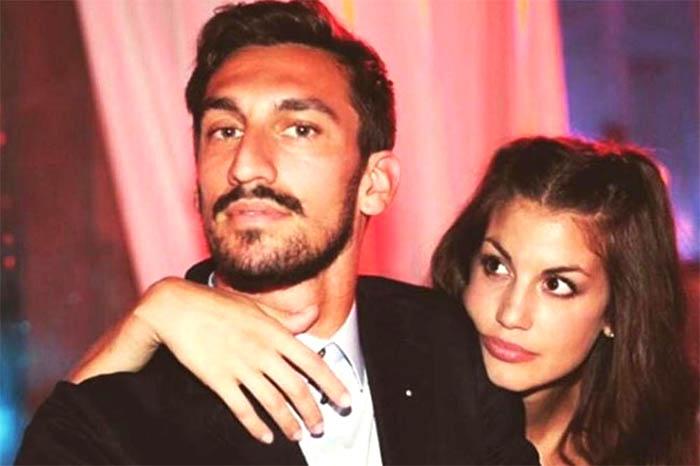 """Davide Astori, la compagna Francesca. """"So di averlo reso felice"""""""