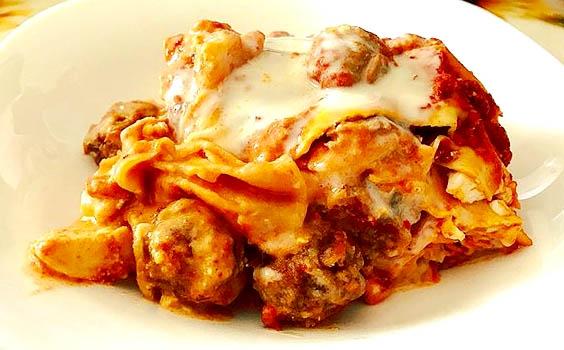 Ricetta della lasagna borbonica: il piatto preferito del re