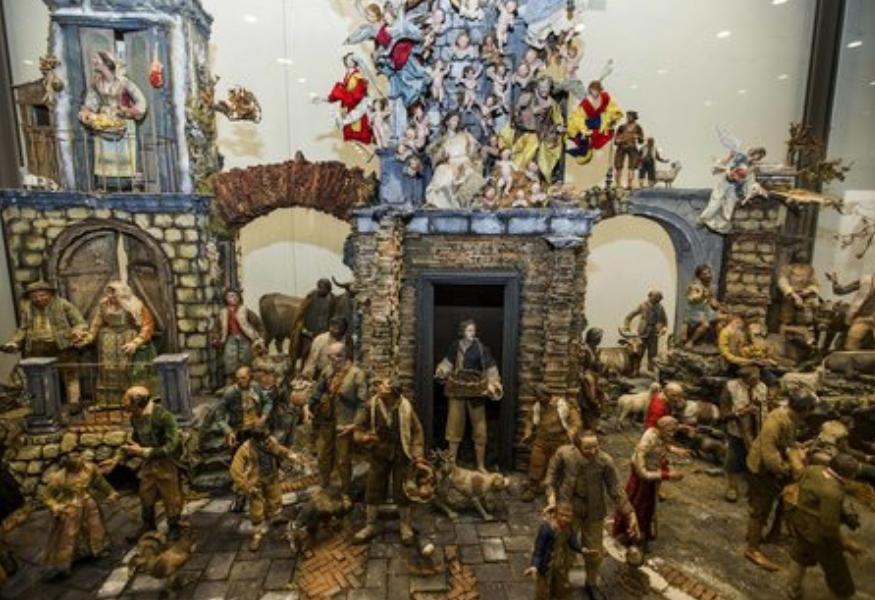 San Domenico Maggiore: l'esposizione antica dei pastori presepiali perduti