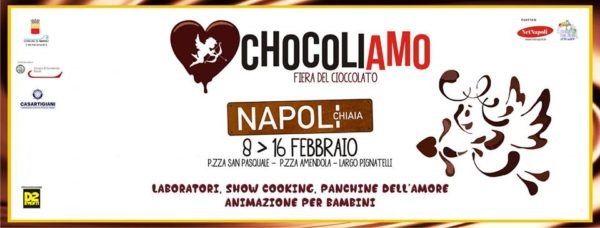 """Eventi a Napoli, """"Chocoliamo"""" una dolce fiera per San Valentino"""