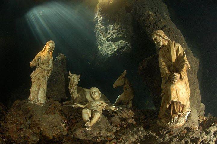 Grotta dello Smeraldo, presepe
