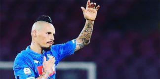 """La lettera di Hamsik: """"Napoli ce l'ho tatuata sulla pelle"""""""