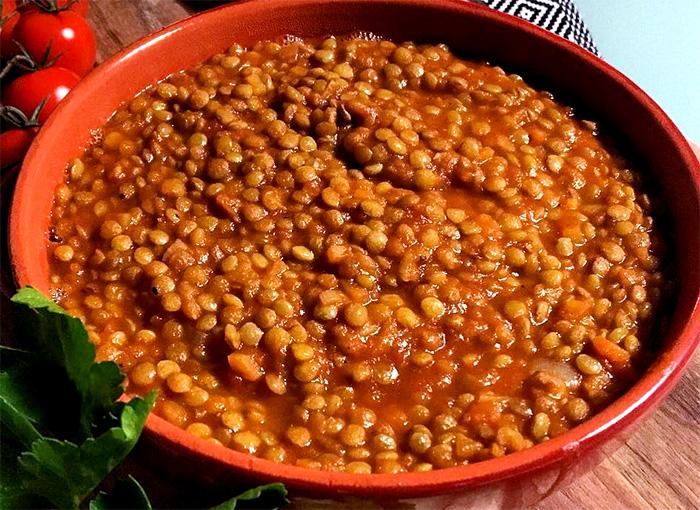 Ricetta Lenticchie Senza Pomodoro.Lenticchie In Umido La Ricetta Perfetta