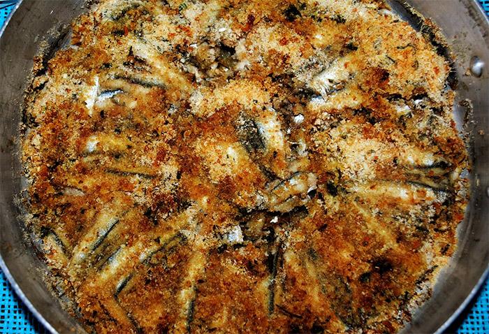 Ricetta delle alici ammollicate: un piatto povero ma squisito
