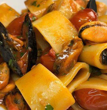 Ricetta calamarata di cozze insolita e speciale per farla cremosa
