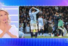 Ascolti tv, 17 aprile: gara all'ultimo share tra la D'Urso e la Champions