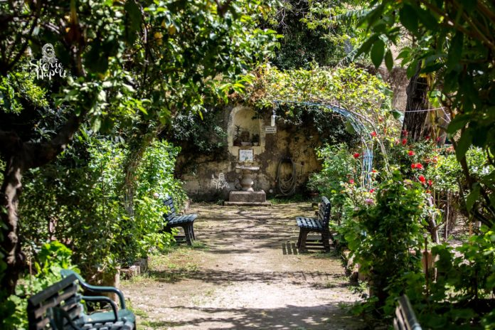 Il giardino di Babuk, un gioiellino nascosto nel centro storico di Napoli
