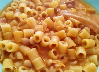 Ricetta pasta e fagioli con cotiche di maiale