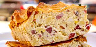 Ricetta pizza rustica napoletana ed è subito Primavera!