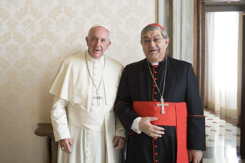 Il cardinale Sepe porterà Noemi da Papa Francesco