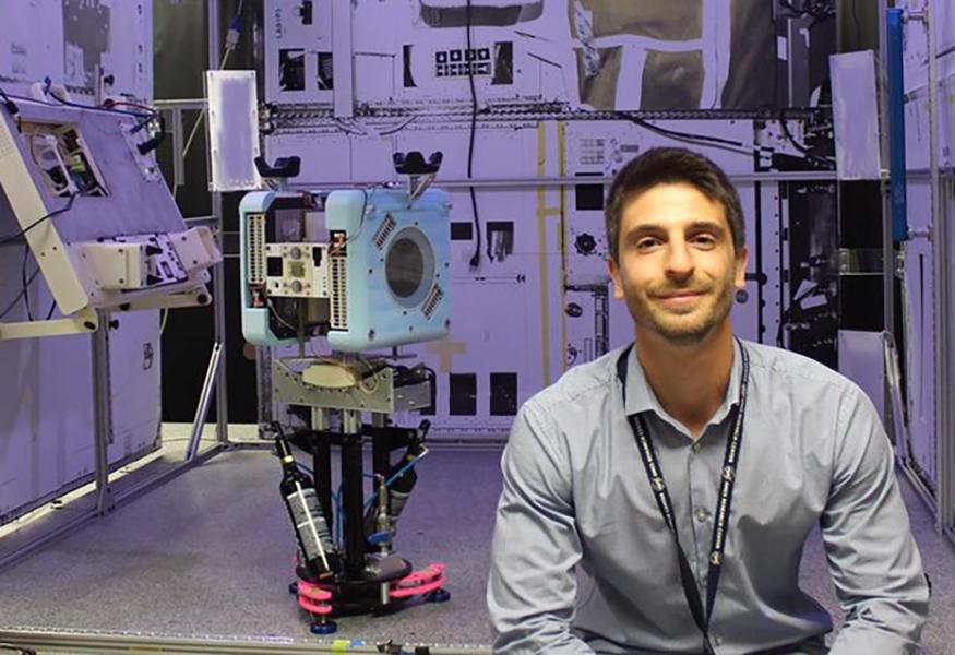 Roberto Carlino, napoletano che progetta robot per la Nasa