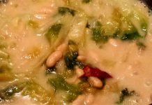 Ricetta zuppa di fagioli e scarole dalle atmosfere rustiche