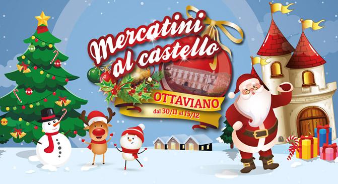 Ottaviano, mercatini di Natale: in arrivo atmosfere magiche