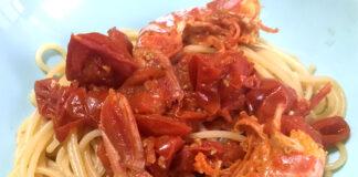 Ricetta spaghetti con gamberoni e pomodorini: decisi e delicati