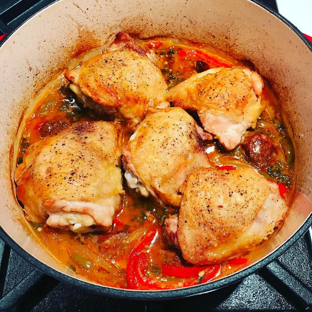 Ricetta pollo allo scarpariello
