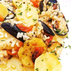 Ricetta tiella riso patate e cozze: piatto unico e ghiotto
