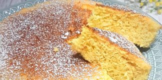 Ricetta torta all'acqua
