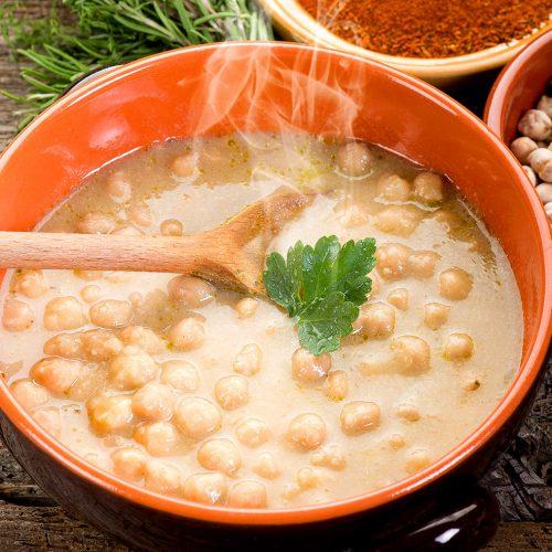 Ricetta zuppa di ceci: quella che scalda il cuore