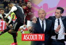Ascolti tv, ieri 13 febbraio 2020: tra sport e intrattenimento