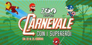 Carnevale 2020: i supereroi allo Zoo di Napoli