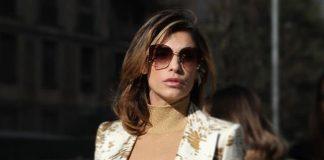 Milano Fashion Week 2020: Elisabetta Canalis alza la temperatura