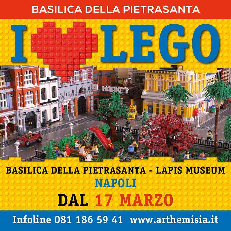 I Love Lego Mostra