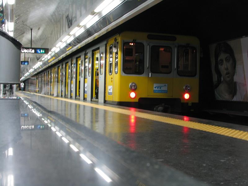 ANM, metropolitana Linea 1: 19 febbraio chiusura anticipata