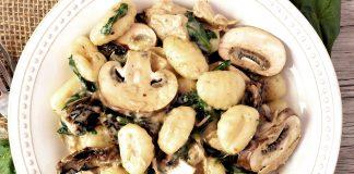Ricetta gnocchi con funghi e spinaci: gustosissimi!