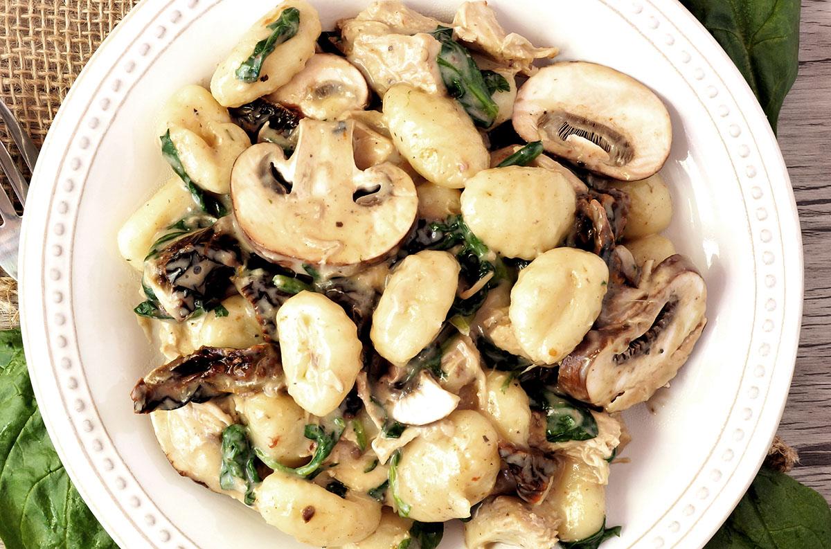 Ricette Gnocchi Con Funghi.Dx57bzl9qgtv6m