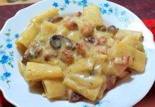 Ricetta pasta polpo e patate: elegante e sublime!