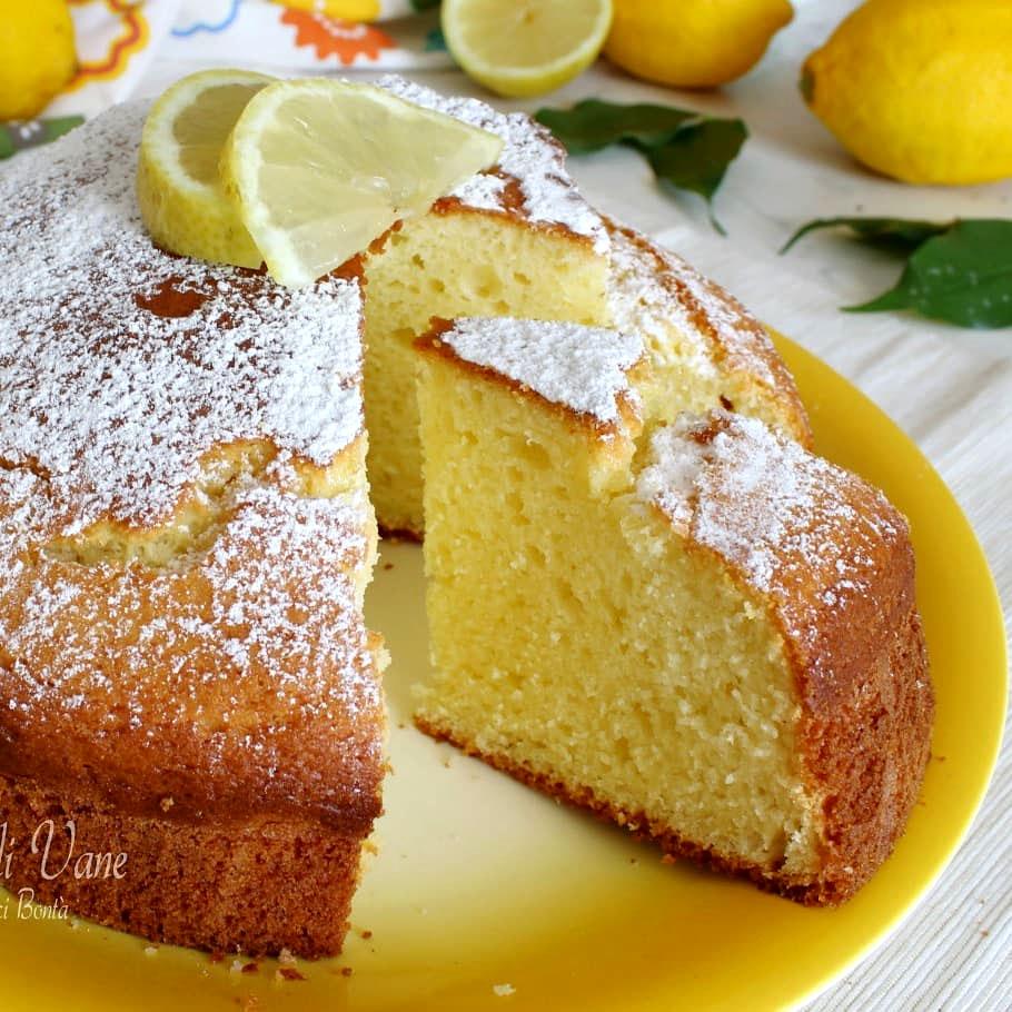 Ricetta torta al limone