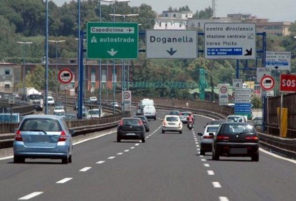 Tangenziale di Pozzuoli: chiusa rampa via Campana