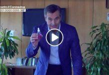Disinfettare le mascherine: dimostrazione di Valerio Rossi Albertini
