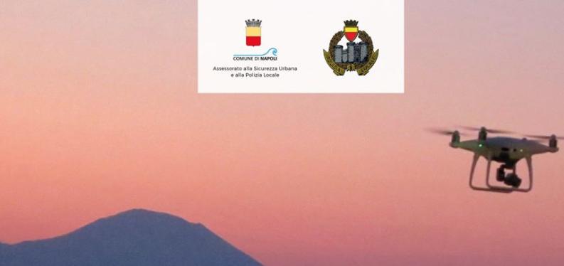 Coronavirus Napoli: droni sulla città per vietare gli assembramenti