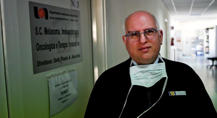 Paolo Ascierto, coordinatore per il gruppo di ricerca del Coronavirus in Campania