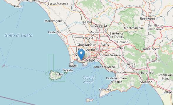 Terremoto a Pozzuoli, 22 scosse nella notte di media intensità