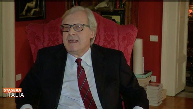 """Sgarbi, Campania chiusa: """"Da Luca sa che non rispettano le regole"""""""