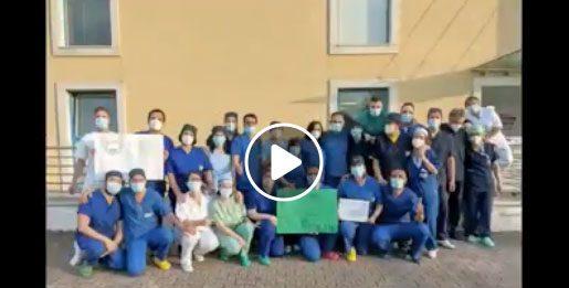 Coronavirus Avellino, si brinda per la chiusura del Covid Hospital