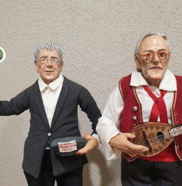 Vittorio Feltri col mandolino e Giordano il parcheggiatore abusivo
