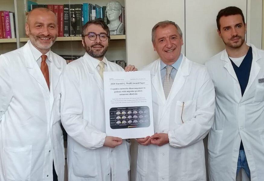 Campania, riconoscimento all'università Vanvitelli per uno studio sull'emicrania