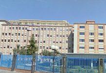 Napoli, ospedale Pascale: cabina igienizzante all'ingresso