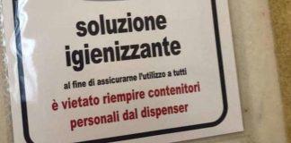"""A Palazzo Chigi ladri di amuchina: """"Vietato rubare gel disinfettante"""""""