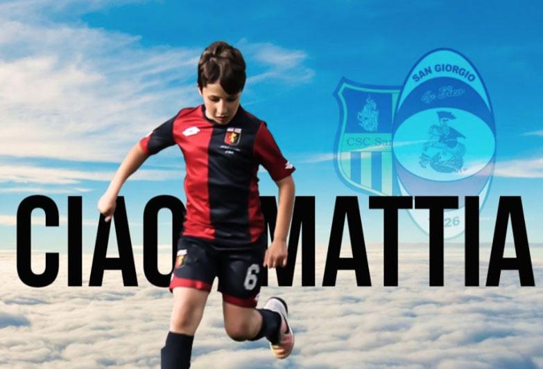 San Giorgio a Cremano in lutto: addio a Mattia, la giovane promessa del calcio