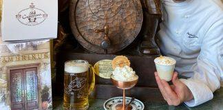Gran Caffè Gambrinus: arriva il gelato alla birra!