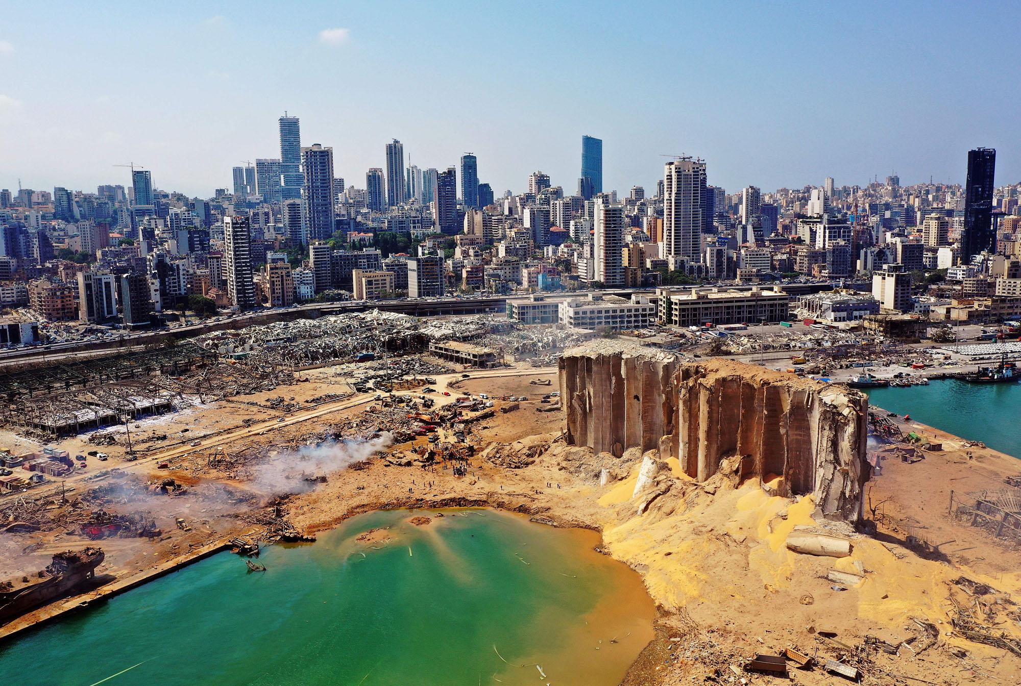 Beirut, vittime, feriti e dispersi e tante persone rimaste senza casa