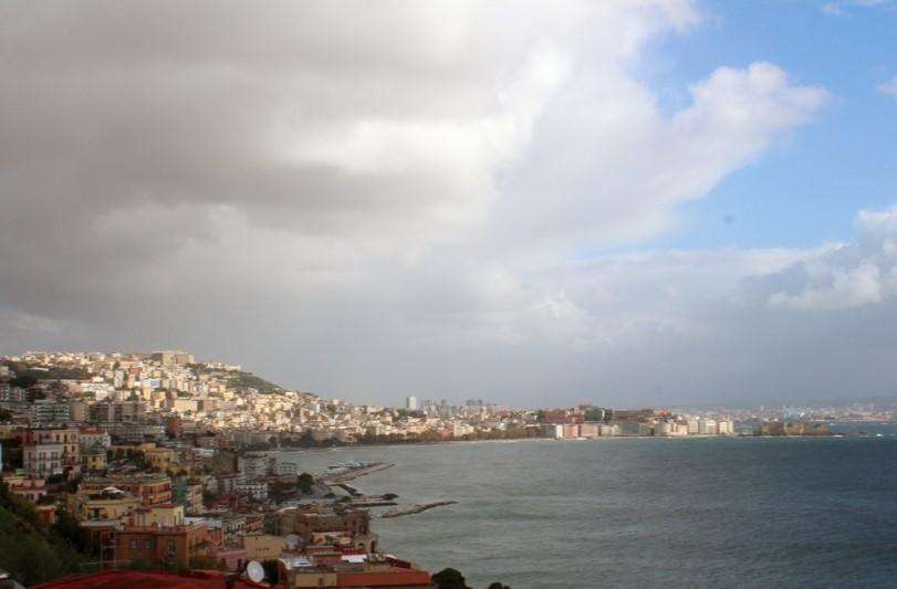 Meteo Napoli: allerta meteo fino a domani
