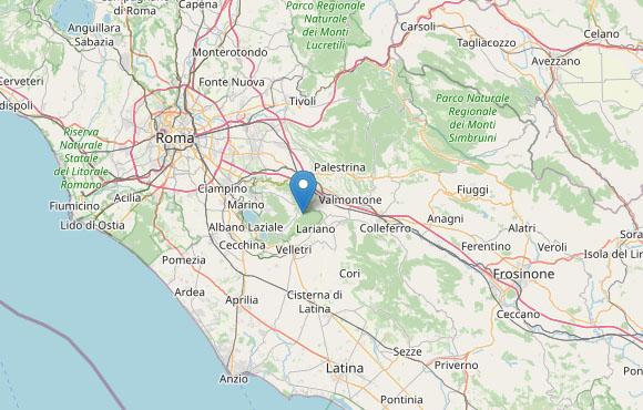 Terremoto oggi, Roma: tre scosse di media intensità