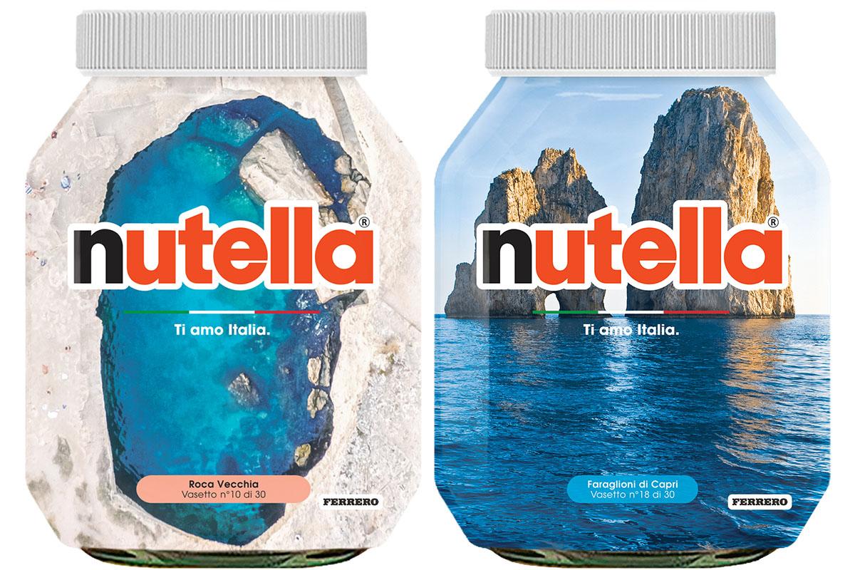 """La Nutella in """"special edition"""" per aiutare il turismo italiano"""