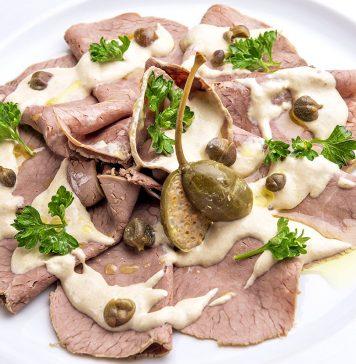 Vitello tonnato: una ricetta per contorno e aperitivo